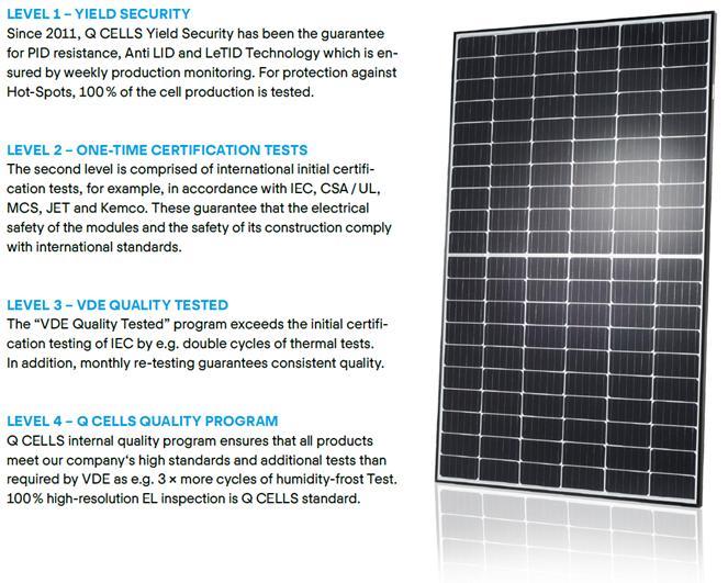 Q cells quality assurance